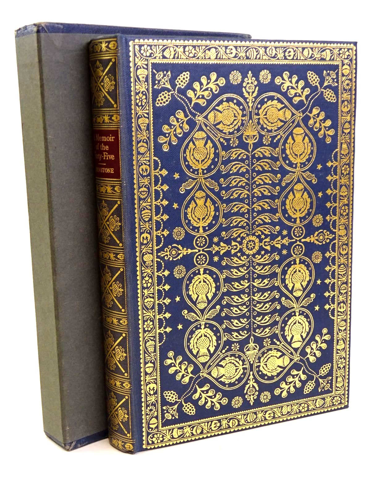 Photo of A MEMOIR OF THE FORTY-FIVE written by De Johnstone, Chevalier<br />Rawston, Brian published by Folio Society (STOCK CODE: 1318478)  for sale by Stella & Rose's Books