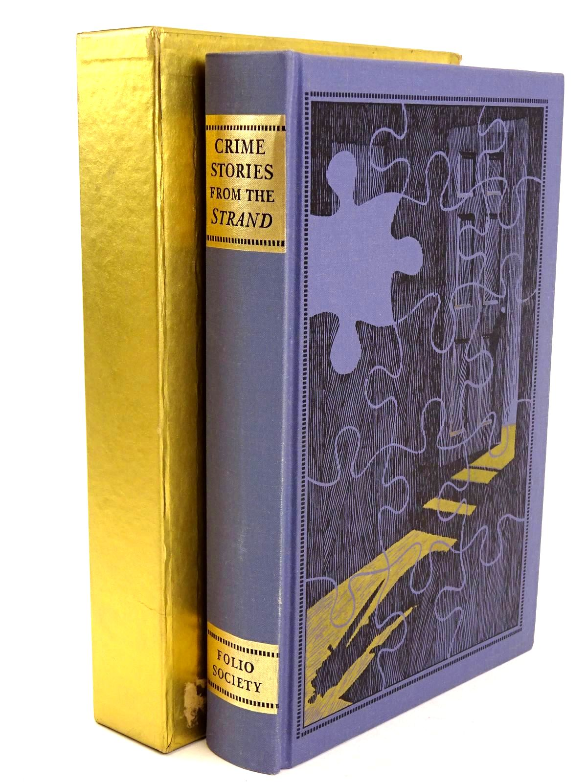 Photo of CRIME STORIES FROM THE 'STRAND' written by Beare, Geraldine Keating, H.R.F. illustrated by Eccles, David published by Folio Society (STOCK CODE: 1318480)  for sale by Stella & Rose's Books
