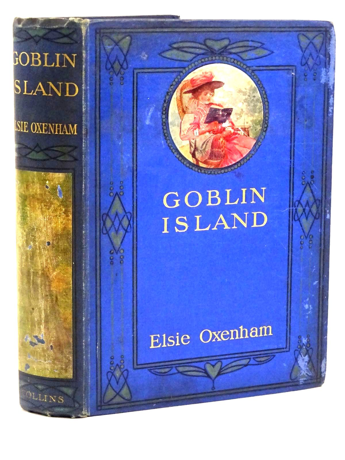 Photo of GOBLIN ISLAND written by Oxenham, Elsie J. illustrated by Robinson, T.H. published by Collins Clear-Type Press (STOCK CODE: 1318492)  for sale by Stella & Rose's Books
