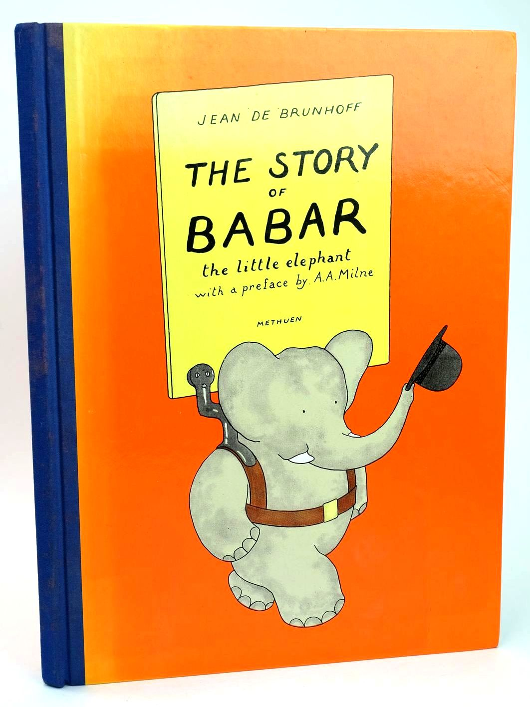 Photo of THE STORY OF BABAR THE LITTLE ELEPHANT written by De Brunhoff, Jean Milne, A.A. illustrated by De Brunhoff, Jean published by Methuen Children's Books (STOCK CODE: 1318542)  for sale by Stella & Rose's Books