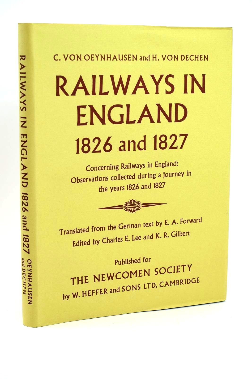 Photo of RAILWAYS IN ENGLAND 1826 AND 1827