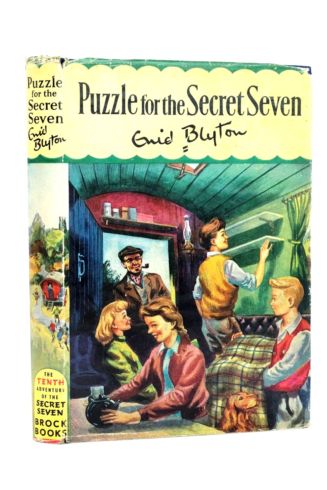 Photo of PUZZLE FOR THE SECRET SEVEN written by Blyton, Enid illustrated by Sharrocks, Burgess published by Brockhampton Press (STOCK CODE: 1318546)  for sale by Stella & Rose's Books
