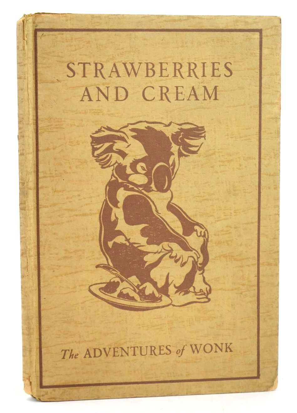 Photo of THE ADVENTURES OF WONK - STRAWBERRIES AND CREAM- Stock Number: 1318552