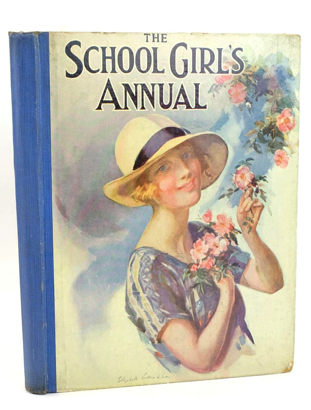 Photo of THE SCHOOL GIRL'S ANNUAL VOL V written by Klickmann, Flora et al,  illustrated by Various,  (STOCK CODE: 1318561)  for sale by Stella & Rose's Books
