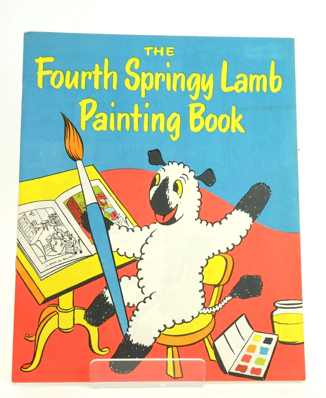 Photo of THE FOURTH SPRINGY LAMB PAINTING BOOK- Stock Number: 1318565