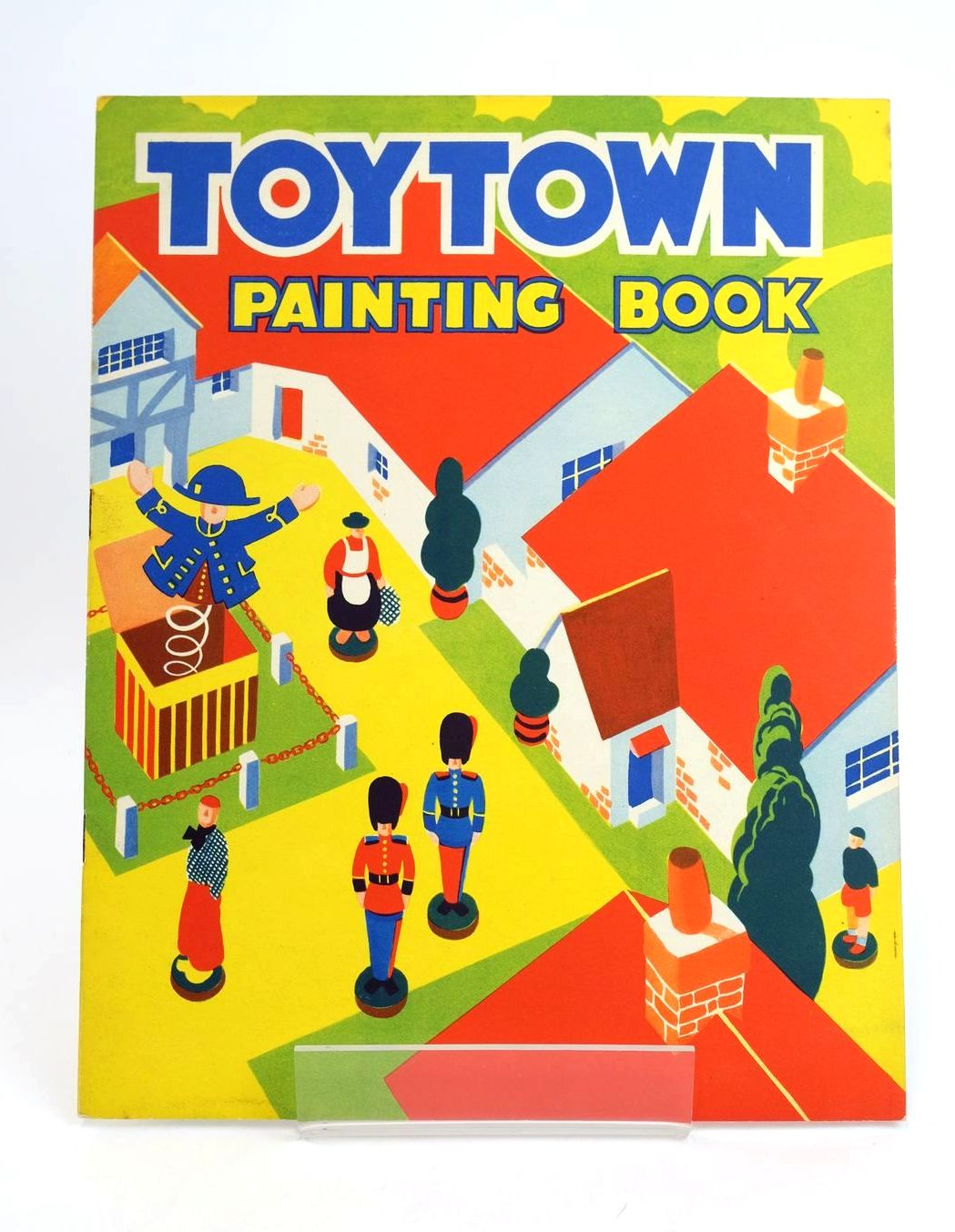 Photo of TOYTOWN PAINTING BOOK- Stock Number: 1318570
