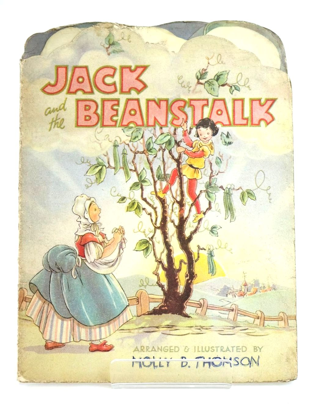 Photo of JACK AND THE BEANSTALK written by Thomson, Molly B. illustrated by Thomson, Molly B. published by Collins Clear-Type Press (STOCK CODE: 1318573)  for sale by Stella & Rose's Books