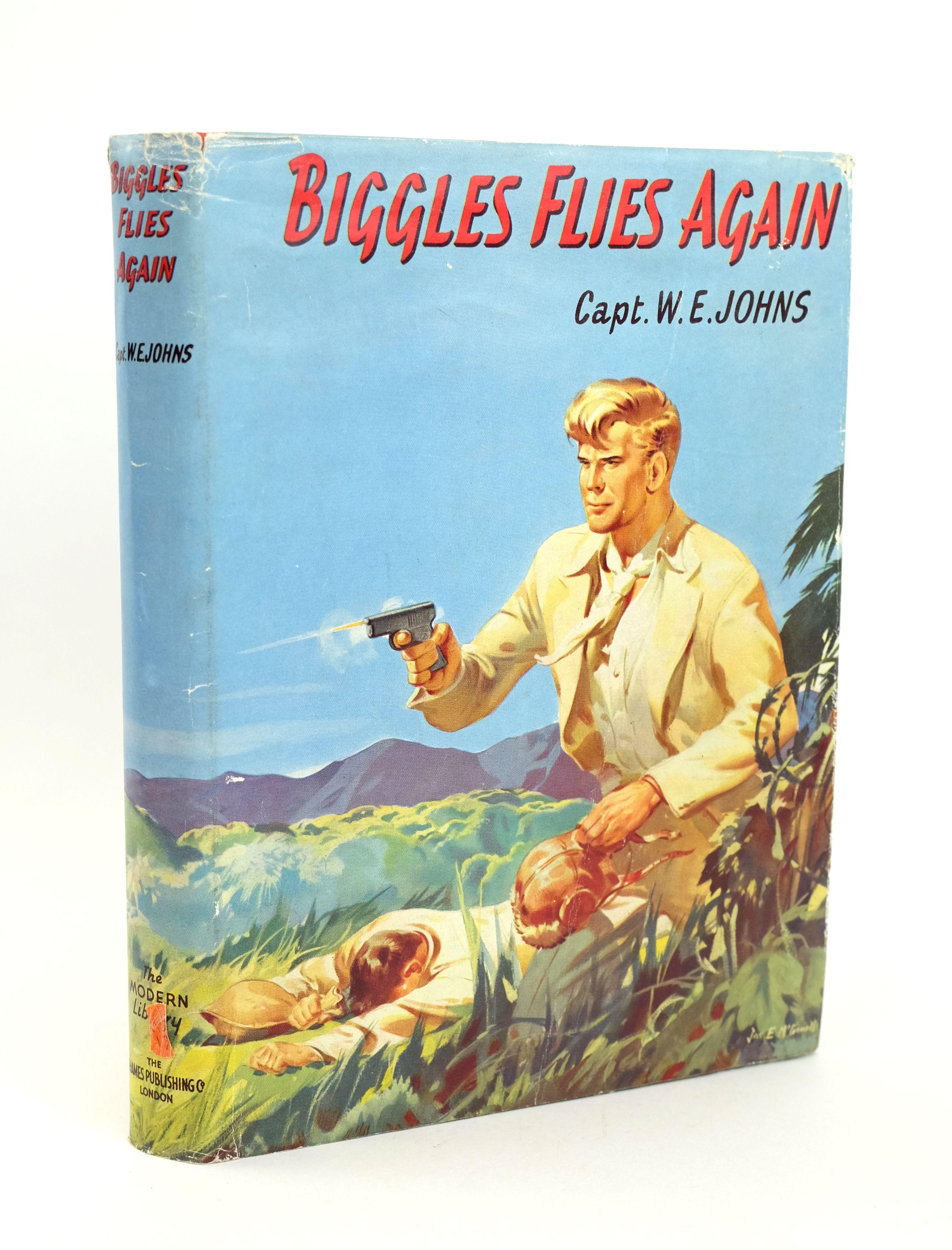 Photo of BIGGLES FLIES AGAIN- Stock Number: 1318591
