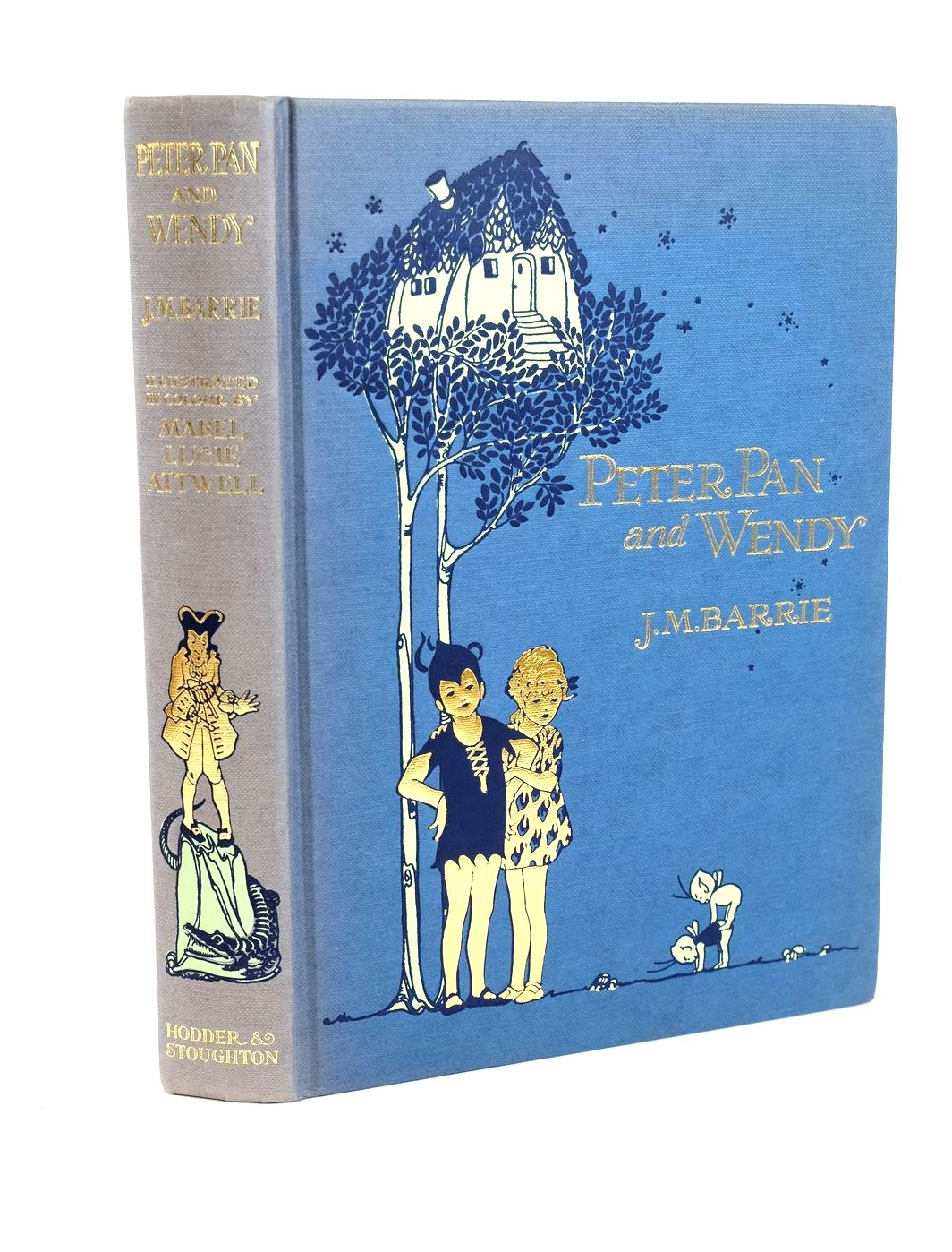 Photo of PETER PAN AND WENDY written by Barrie, J.M. illustrated by Attwell, Mabel Lucie published by Hodder & Stoughton (STOCK CODE: 1318595)  for sale by Stella & Rose's Books