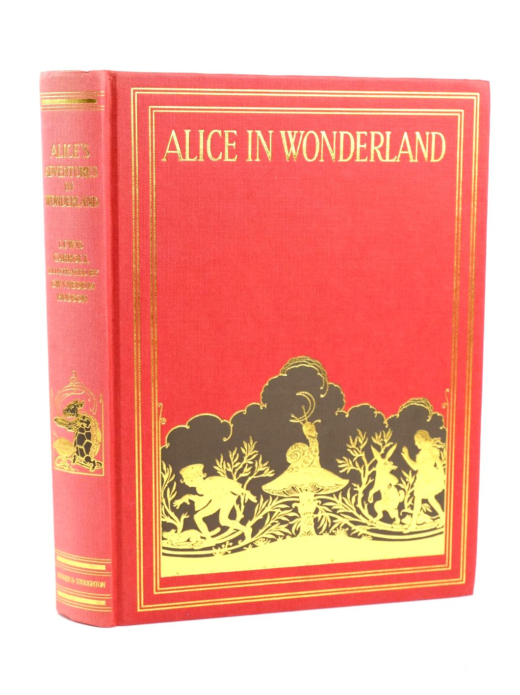 Photo of ALICE'S ADVENTURES IN WONDERLAND written by Carroll, Lewis illustrated by Hudson, Gwynedd M. published by Hodder & Stoughton Children's Books (STOCK CODE: 1318596)  for sale by Stella & Rose's Books