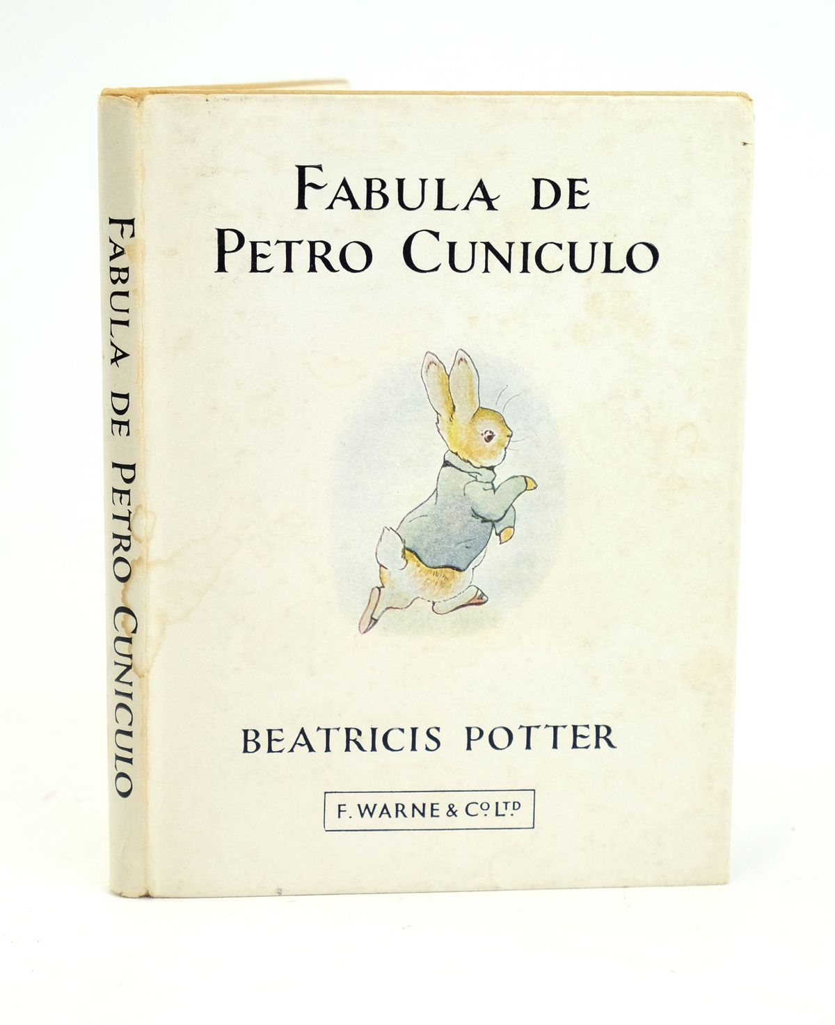 Photo of FABULA DE PETRO CUNICULO written by Potter, Beatrix illustrated by Potter, Beatrix published by Frederick Warne & Co Ltd. (STOCK CODE: 1318601)  for sale by Stella & Rose's Books
