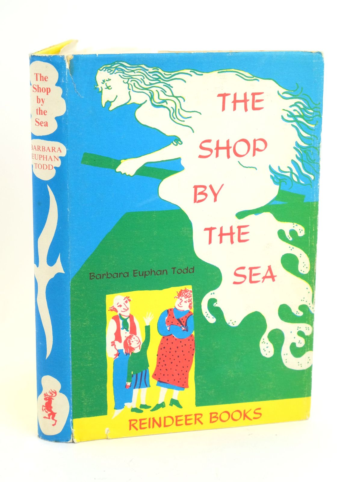 Photo of THE SHOP BY THE SEA written by Todd, Barbara Euphan illustrated by Garland, Sarah published by Hamish Hamilton (STOCK CODE: 1318613)  for sale by Stella & Rose's Books