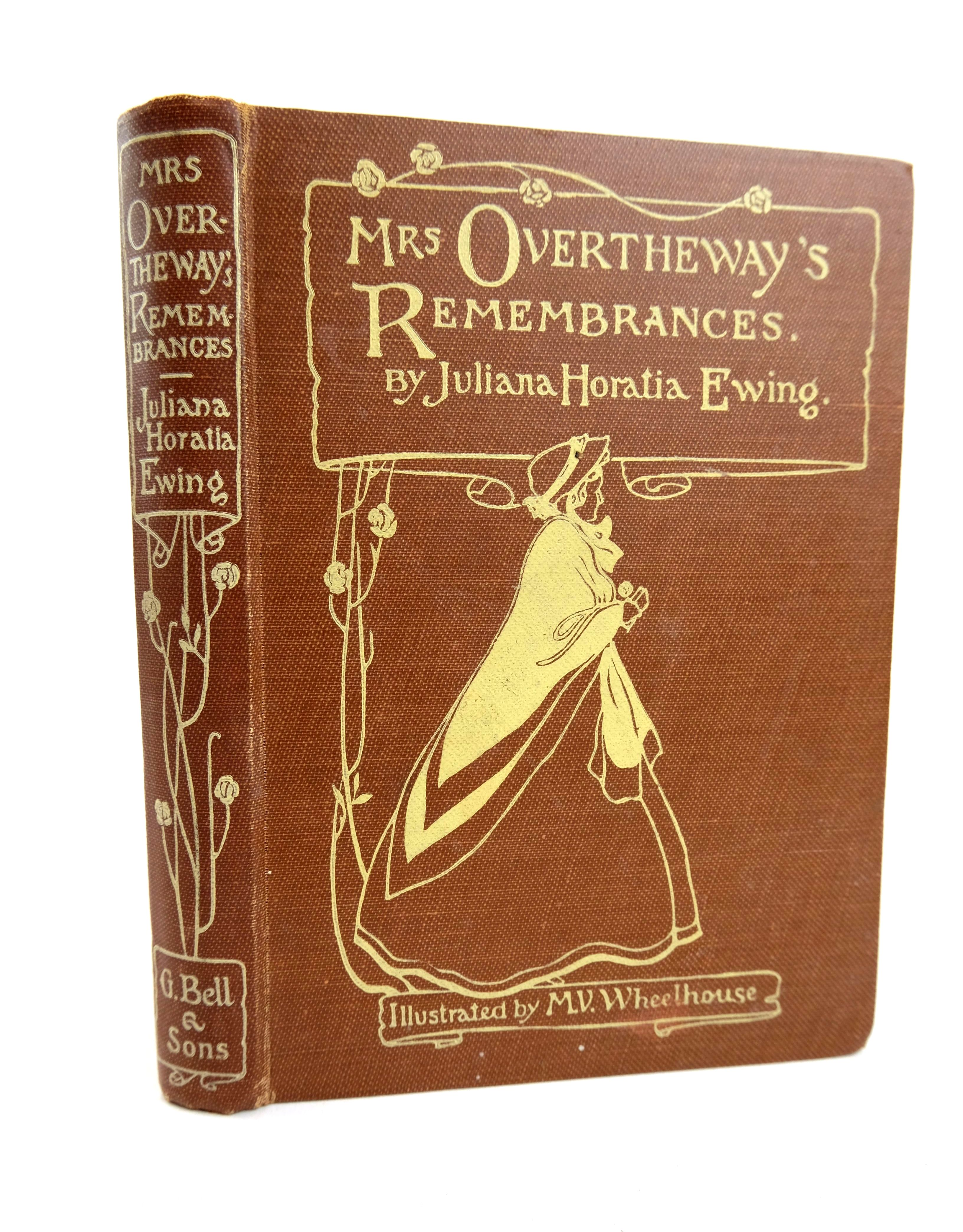Photo of MRS OVERTHEWAY'S REMEMBRANCES written by Ewing, Juliana Horatia illustrated by Wheelhouse, M.V. published by G. Bell & Sons Ltd. (STOCK CODE: 1318633)  for sale by Stella & Rose's Books
