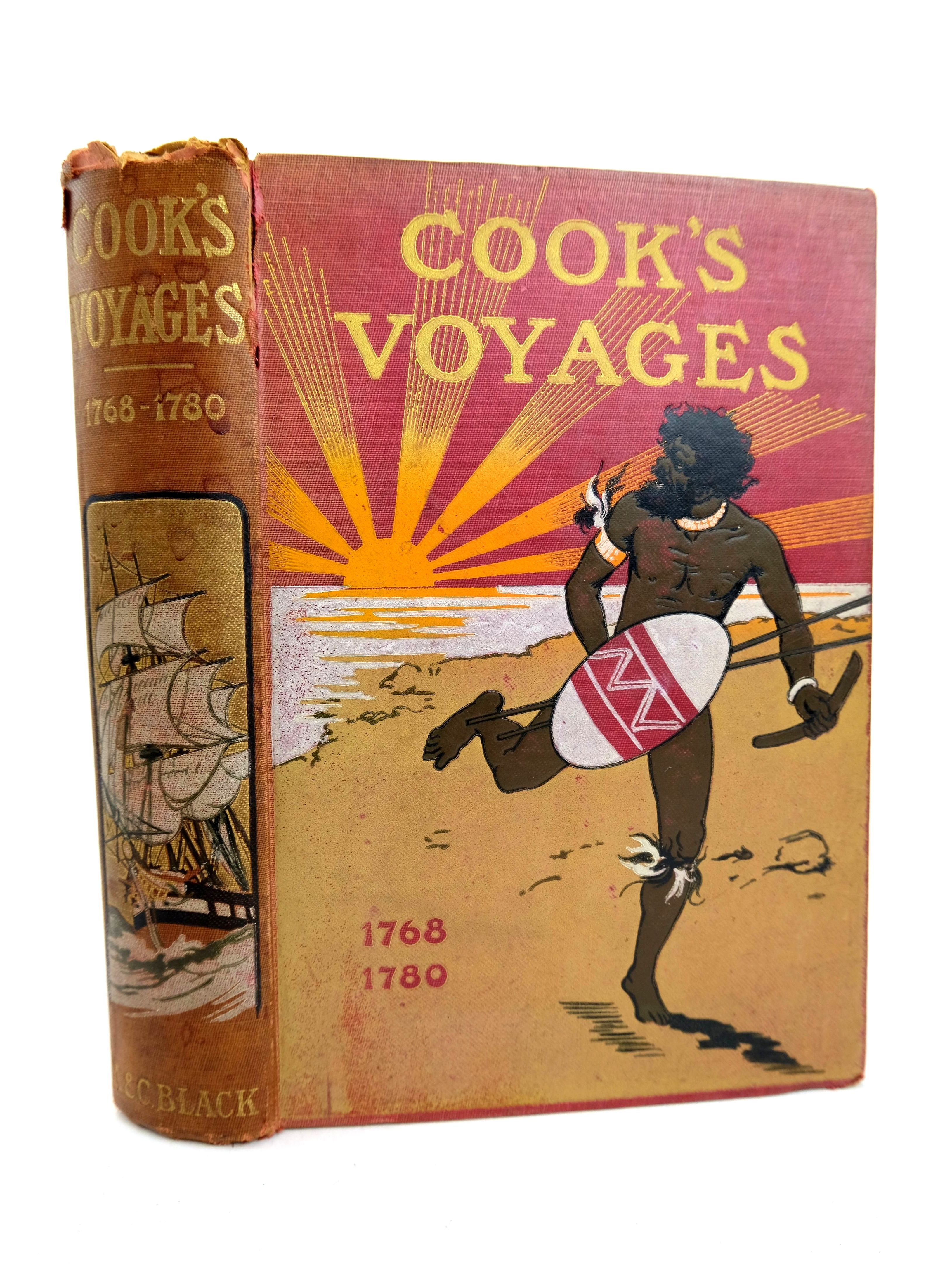 Photo of COOK'S VOYAGES OF DISCOVERY- Stock Number: 1318636