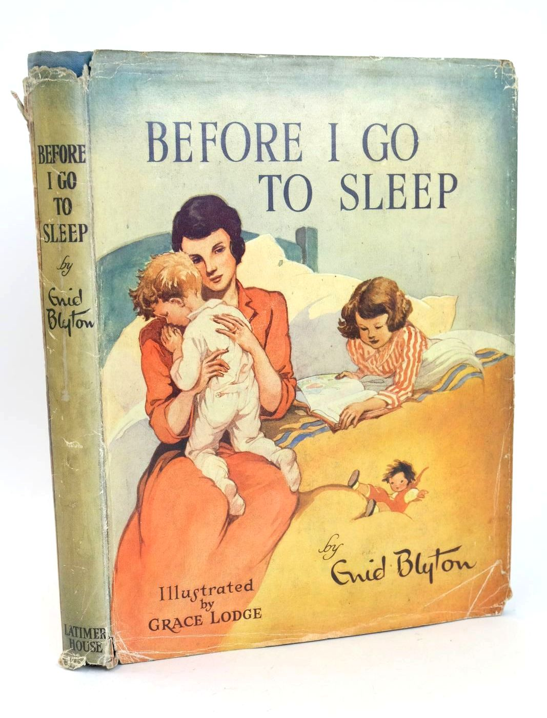 Photo of BEFORE I GO TO SLEEP written by Blyton, Enid illustrated by Lodge, Grace published by Latimer House Limited (STOCK CODE: 1318640)  for sale by Stella & Rose's Books