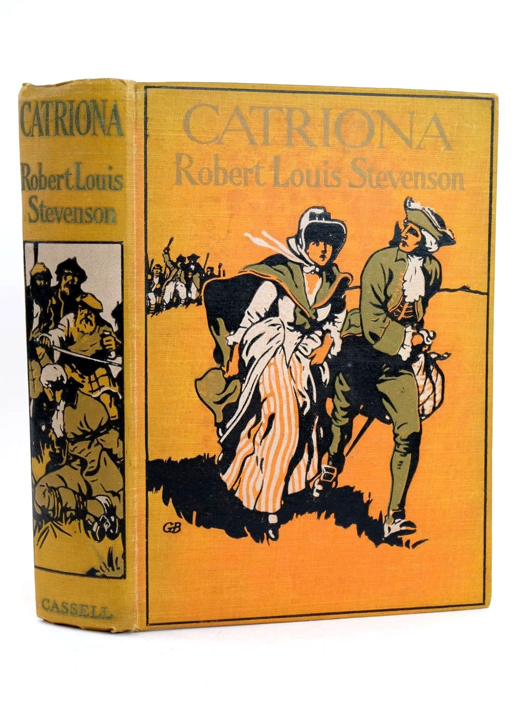 Photo of CATRIONA written by Stevenson, Robert Louis illustrated by Michael, A.C. published by Cassell & Company Ltd (STOCK CODE: 1318653)  for sale by Stella & Rose's Books