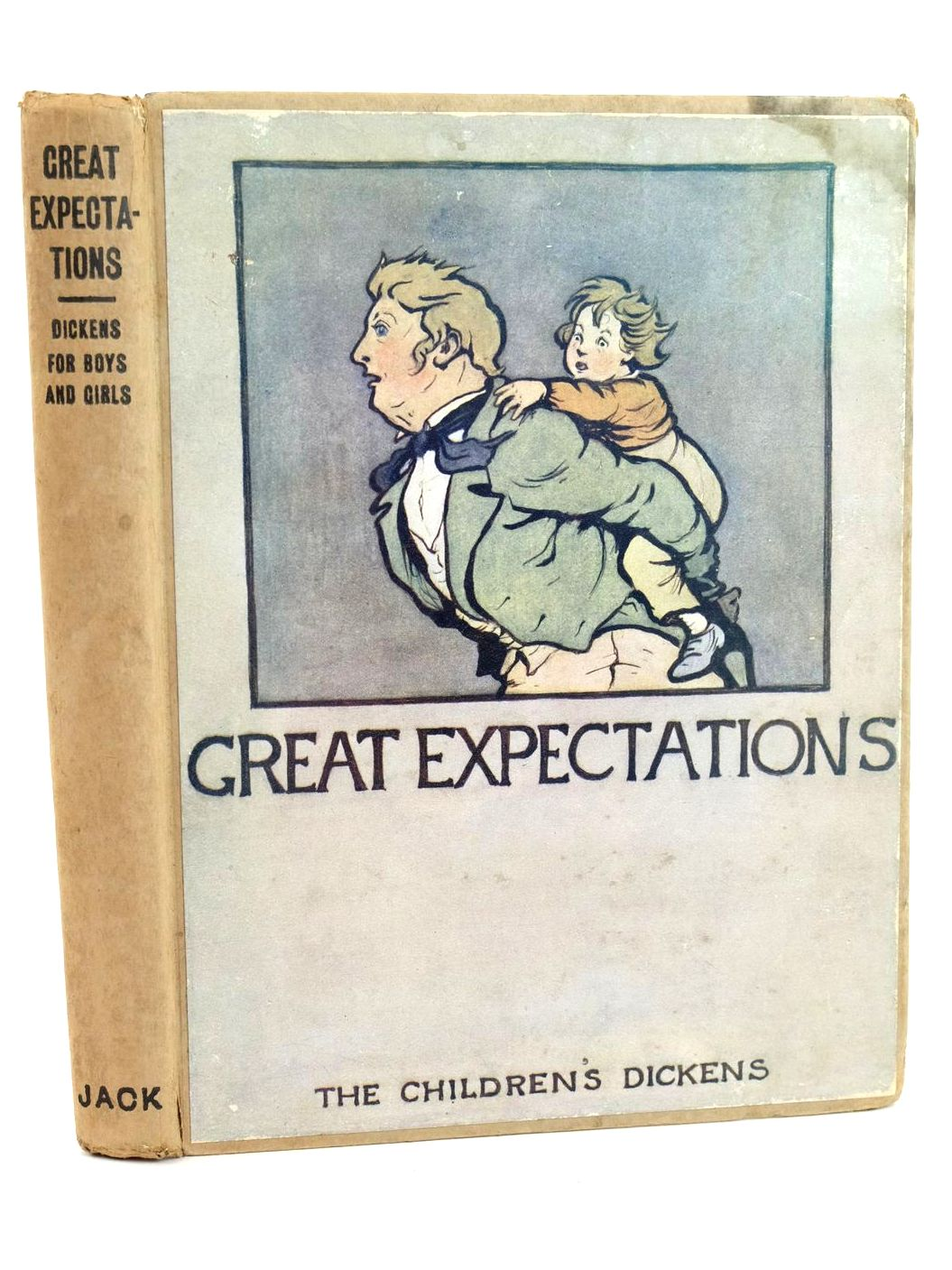 Photo of GREAT EXPECTATIONS written by Dickens, Charles Jackson, Alice F. illustrated by Blaikie, F.M.B. published by T.C. & E.C. Jack (STOCK CODE: 1318657)  for sale by Stella & Rose's Books