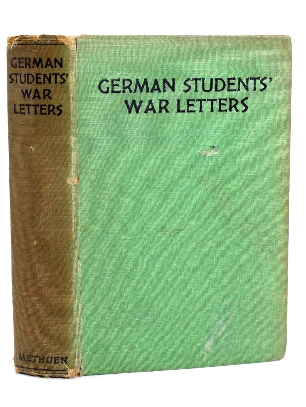 Photo of GERMAN STUDENTS' WAR LETTERS written by Weddle, A.F. published by Methuen & Co. Ltd. (STOCK CODE: 1318660)  for sale by Stella & Rose's Books