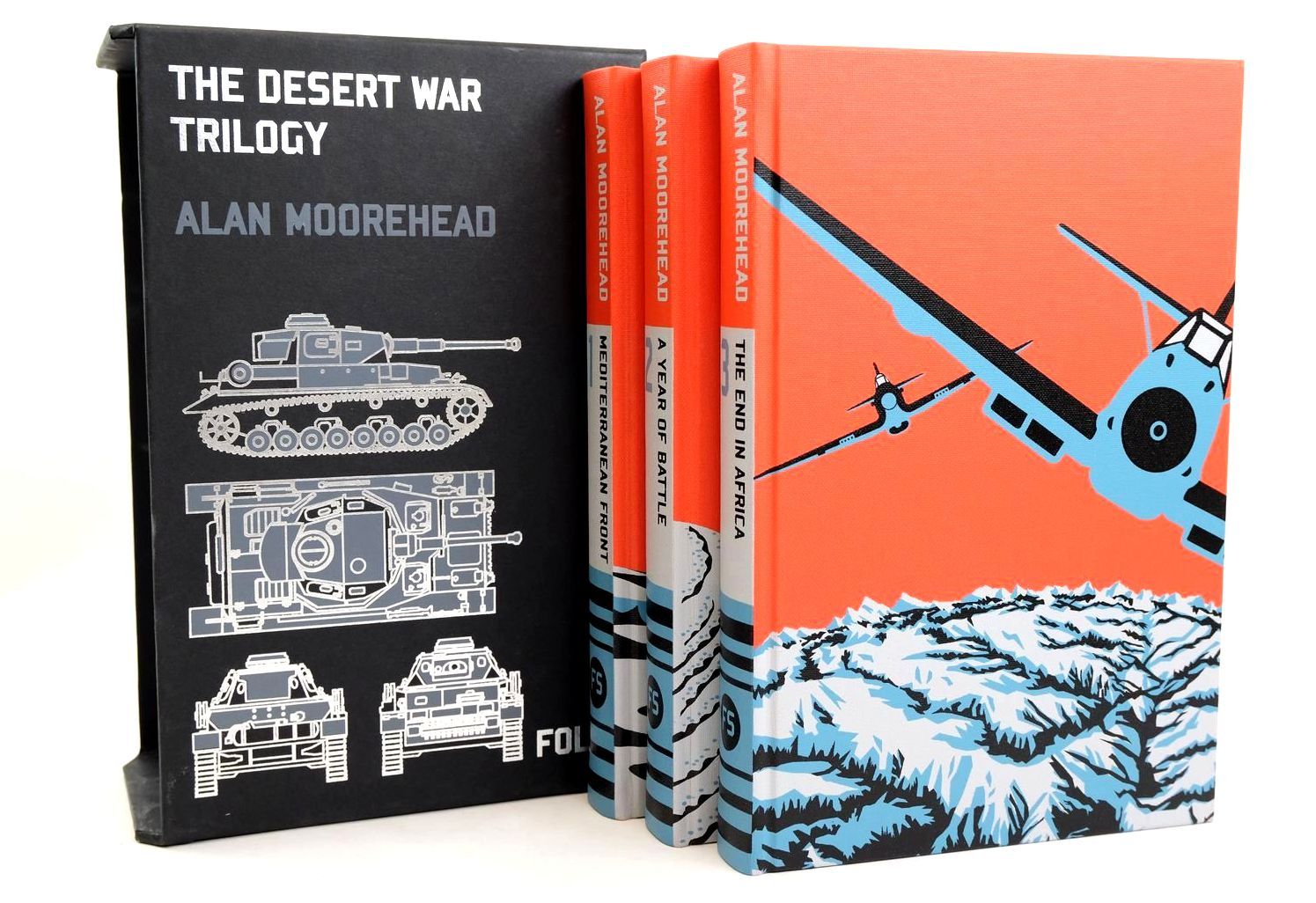 Photo of THE DESERT WAR TRILOGY (3 VOLUMES) written by Moorehead, Alan published by Folio Society (STOCK CODE: 1318672)  for sale by Stella & Rose's Books