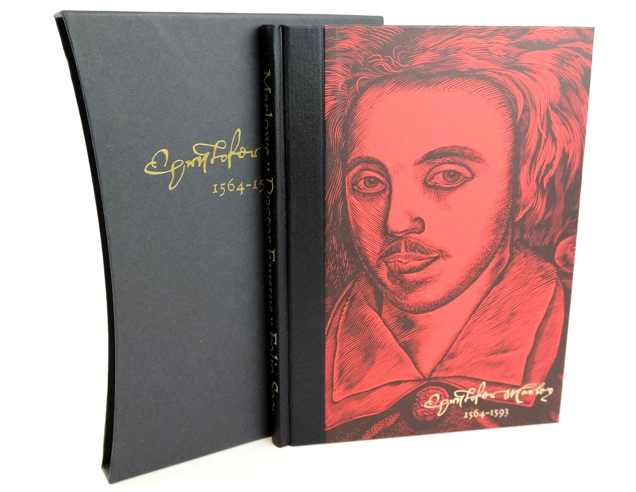 Photo of THE TRAGICAL HISTORY OF DOCTOR FAUSTUS written by Marlowe, Christopher illustrated by Tute, George published by Folio Society (STOCK CODE: 1318677)  for sale by Stella & Rose's Books
