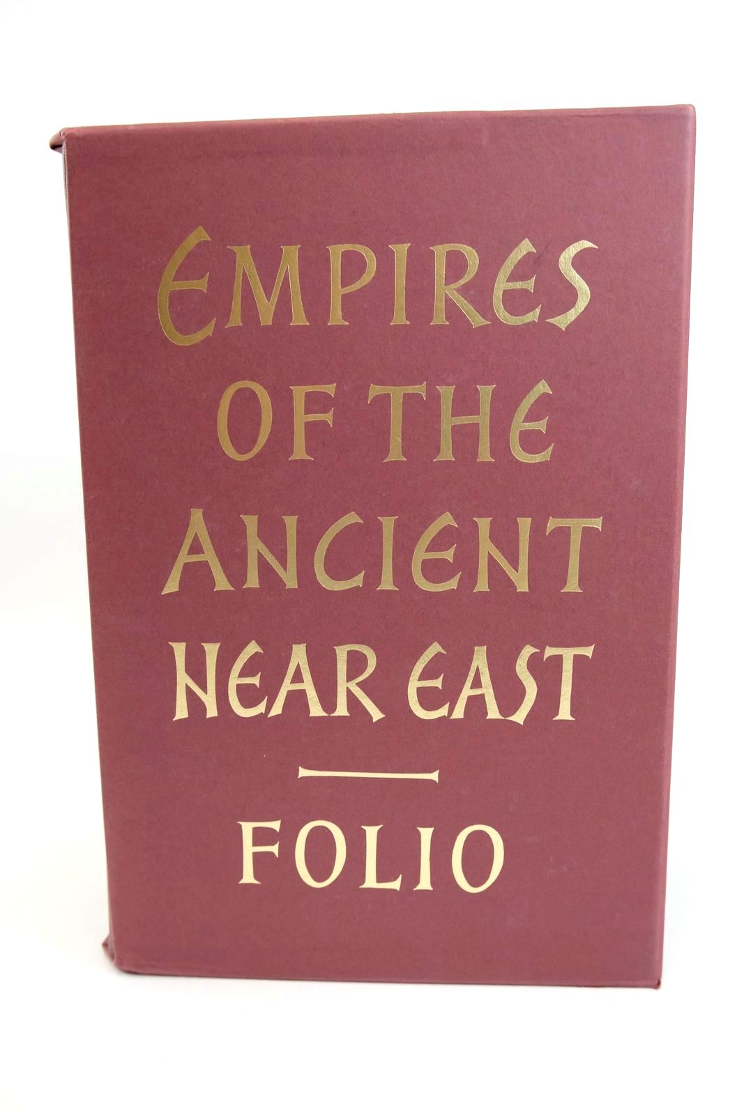 Photo of EMPIRES OF THE ANCIENT NEAR EAST (FOUR VOLUMES) written by Saggs, H.W.F. Gardiner, Alan Cook, J.M. Gurney, O.R. published by Folio Society (STOCK CODE: 1318678)  for sale by Stella & Rose's Books