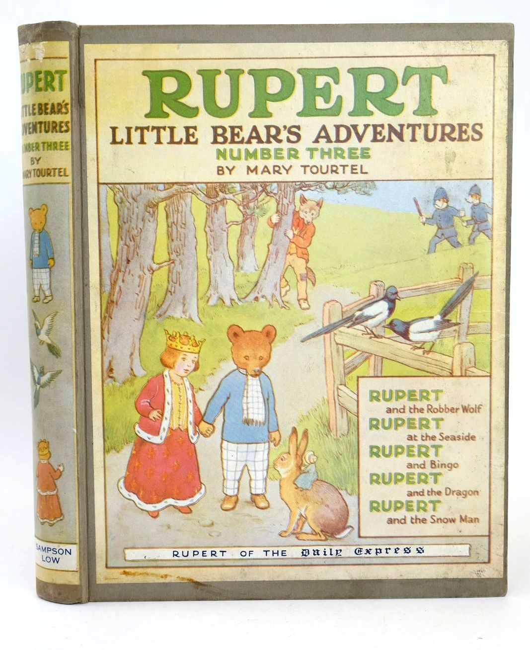 Photo of RUPERT LITTLE BEAR'S ADVENTURES NUMBER THREE written by Tourtel, Mary illustrated by Tourtel, Mary published by Sampson Low, Marston & Co. Ltd. (STOCK CODE: 1318679)  for sale by Stella & Rose's Books