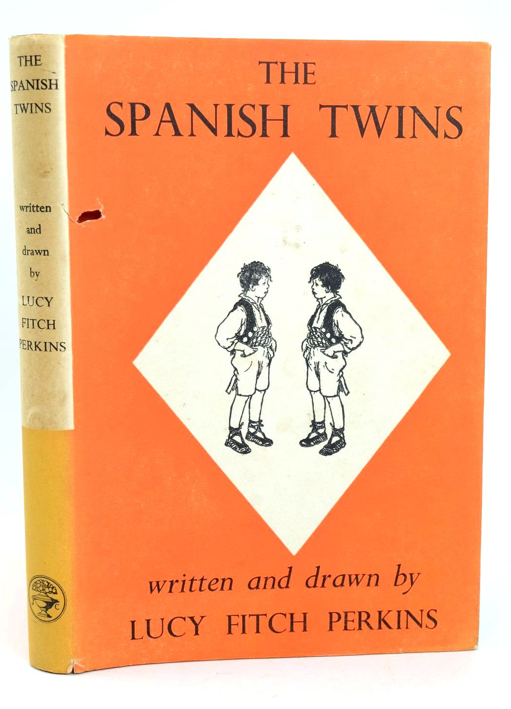 Photo of THE SPANISH TWINS written by Perkins, Lucy Fitch illustrated by Perkins, Lucy Fitch published by Jonathan Cape (STOCK CODE: 1318683)  for sale by Stella & Rose's Books