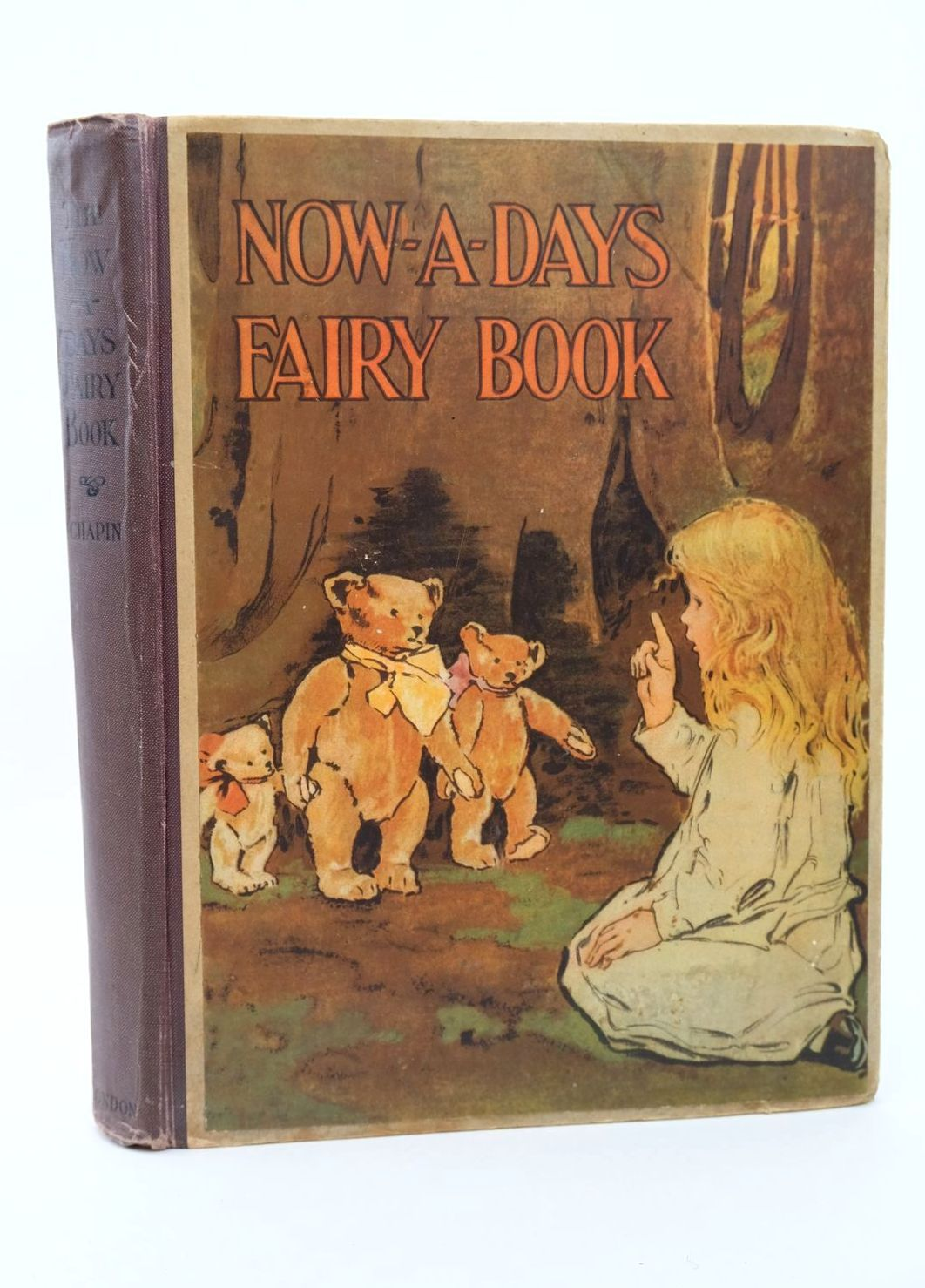 Photo of THE NOW-A-DAYS FAIRY BOOK written by Chapin, Anna Alice illustrated by Smith, Jessie Willcox published by J. Coker & Co. (STOCK CODE: 1318707)  for sale by Stella & Rose's Books