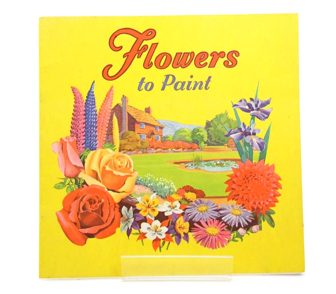 Photo of FLOWERS TO PAINT published by Amex Company Ltd. (STOCK CODE: 1318708)  for sale by Stella & Rose's Books