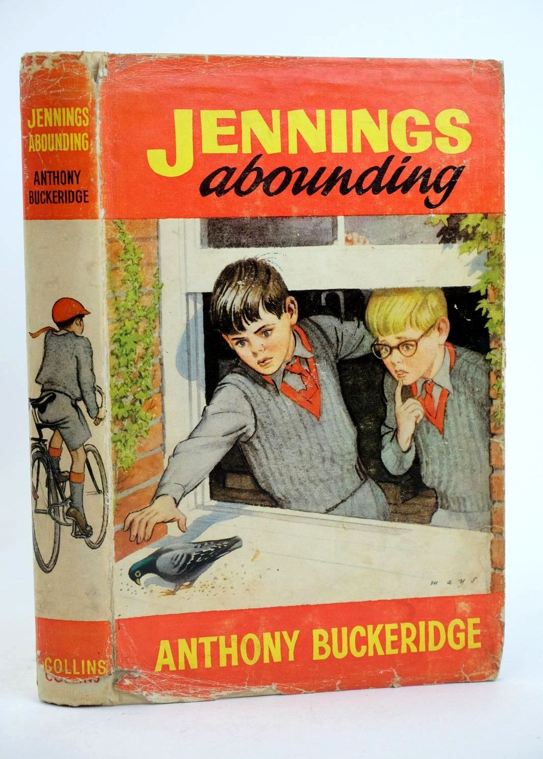 Photo of JENNINGS ABOUNDING written by Buckeridge, Anthony illustrated by Mays,  published by Collins (STOCK CODE: 1318714)  for sale by Stella & Rose's Books