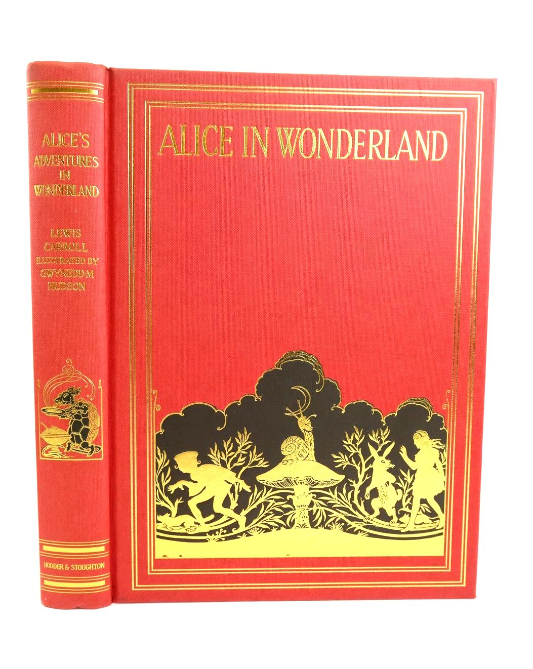 Photo of ALICE'S ADVENTURES IN WONDERLAND written by Carroll, Lewis illustrated by Hudson, Gwynedd M. published by Hodder & Stoughton Children's Books (STOCK CODE: 1318728)  for sale by Stella & Rose's Books