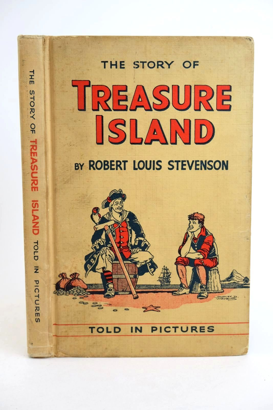 Photo of THE STORY OF TREASURE ISLAND: TOLD IN PICTURES