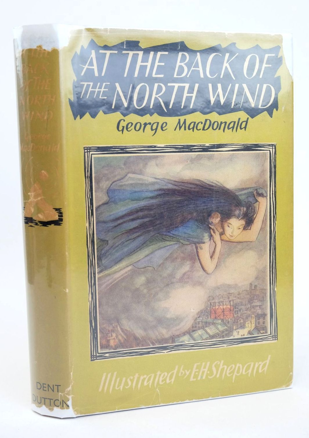 Photo of AT THE BACK OF THE NORTH WIND written by MacDonald, George illustrated by Shepard, E.H. published by J.M. Dent & Sons Ltd. (STOCK CODE: 1318749)  for sale by Stella & Rose's Books