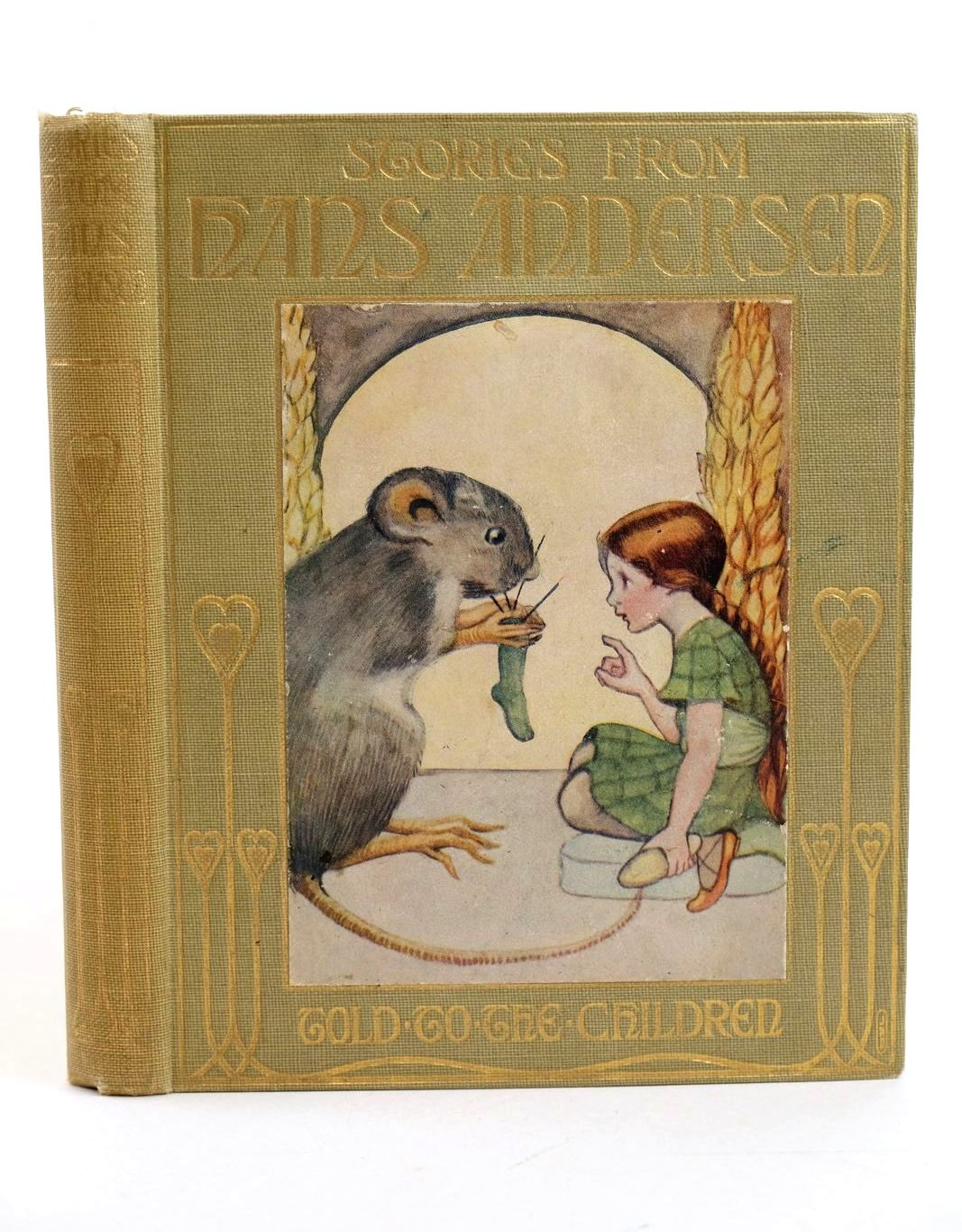Photo of FAIRY TALES FROM HANS ANDERSEN written by Andersen, Hans Christian Macgregor, Mary illustrated by Allen, Olive published by T.C. & E.C. Jack (STOCK CODE: 1318752)  for sale by Stella & Rose's Books