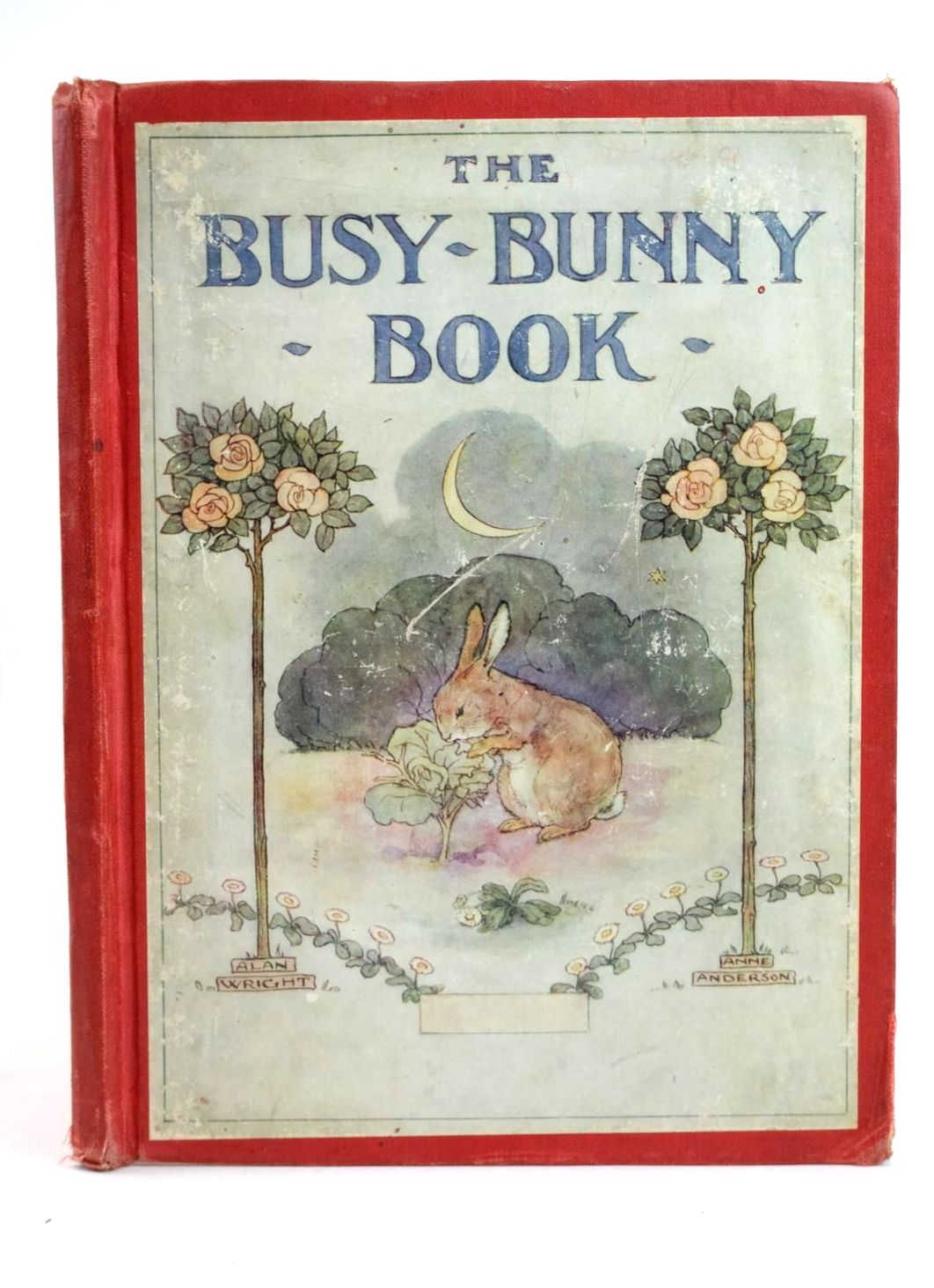 Photo of THE BUSY-BUNNY BOOK written by Anderson, Anne Wright, Alan illustrated by Anderson, Anne Wright, Alan published by Thomas Nelson & Sons (STOCK CODE: 1318754)  for sale by Stella & Rose's Books