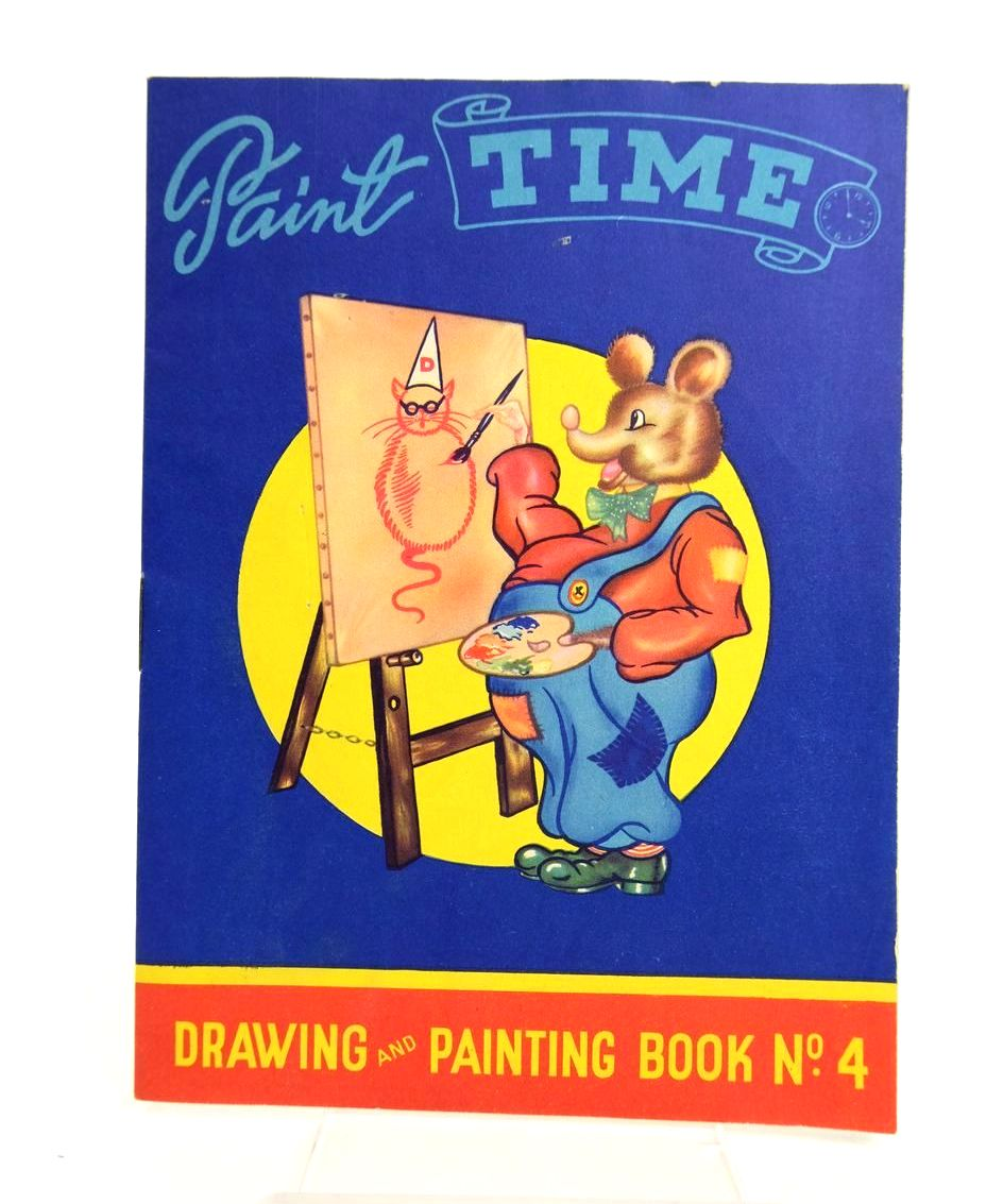 Photo of PAINT TIME DRAWING AND PAINTING BOOK No. 4 published by Brent Press Ltd (STOCK CODE: 1318771)  for sale by Stella & Rose's Books