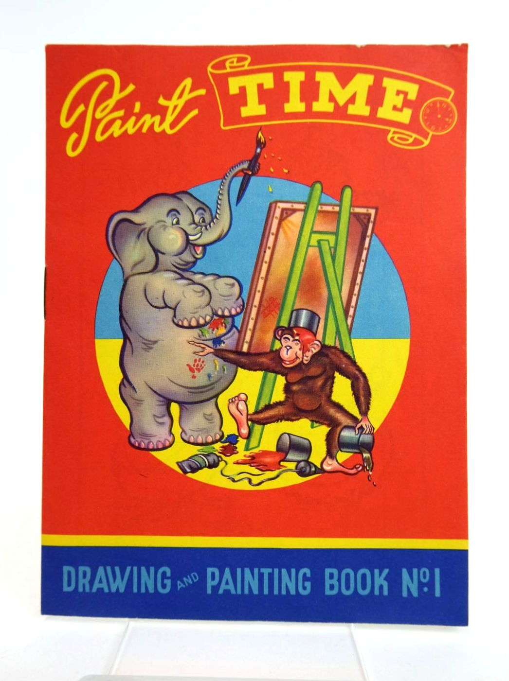 Photo of PAINT TIME DRAWING AND PAINTING BOOK No. 1 published by Brent Press Ltd (STOCK CODE: 1318772)  for sale by Stella & Rose's Books