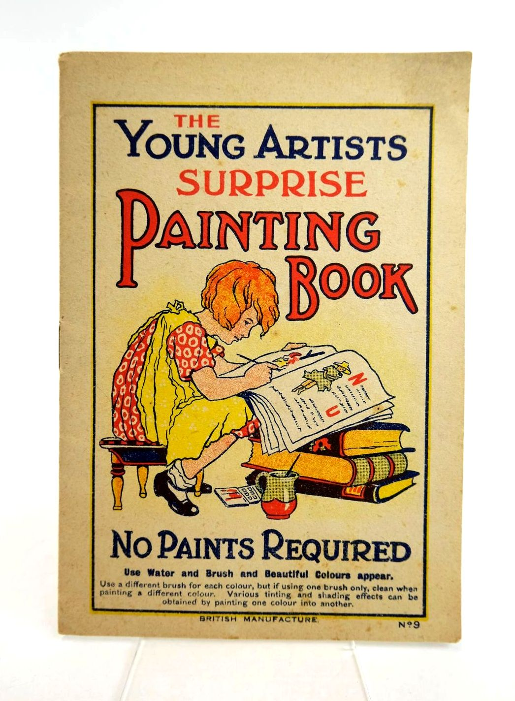 Photo of THE YOUNG ARTISTS SUPRISE PAINTING BOOK No. 9 (STOCK CODE: 1318773)  for sale by Stella & Rose's Books