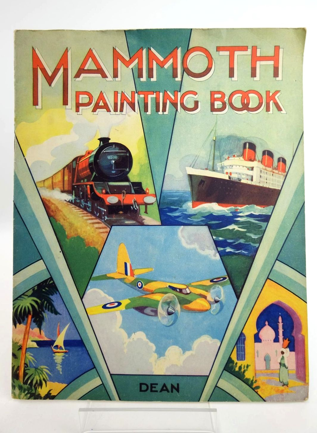 Photo of MAMMOTH PAINTING BOOK published by Dean & Son Ltd. (STOCK CODE: 1318775)  for sale by Stella & Rose's Books