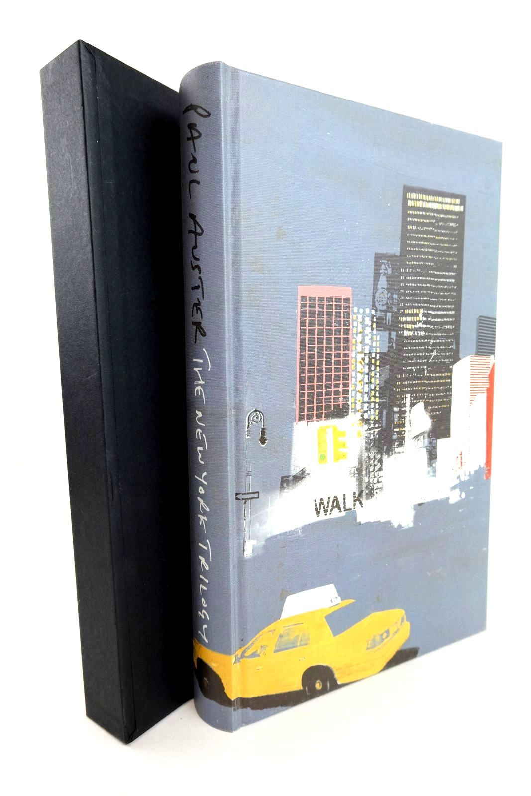 Photo of THE NEW YORK TRILOGY written by Auster, Paul illustrated by Burns, Tom published by Folio Society (STOCK CODE: 1318781)  for sale by Stella & Rose's Books