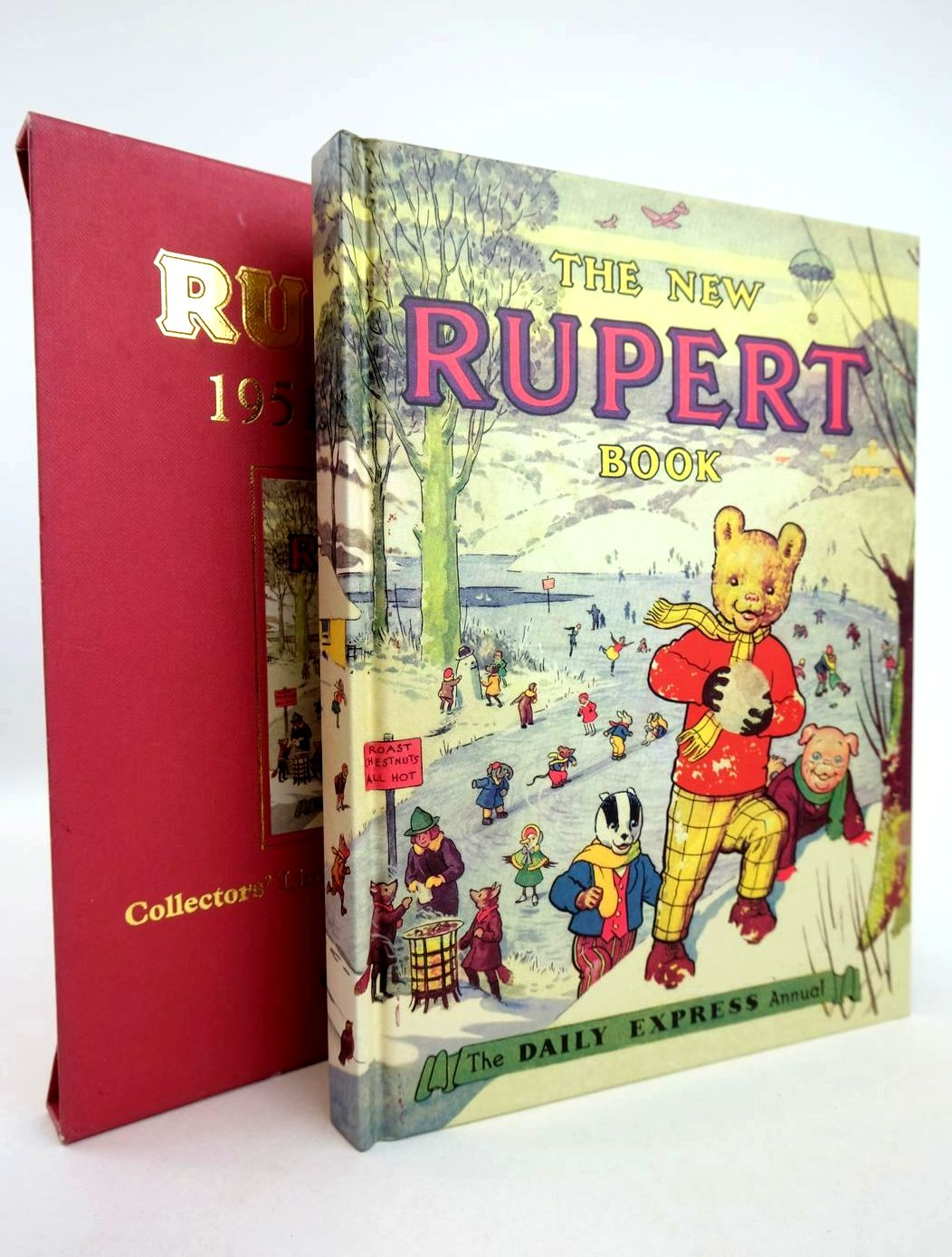 Photo of RUPERT ANNUAL 1951 (FACSIMILE) - THE NEW RUPERT BOOK- Stock Number: 1318784