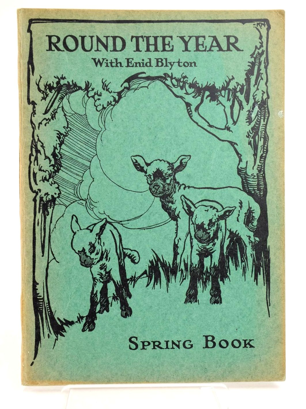 Photo of ROUND THE YEAR WITH ENID BLYTON - SPRING BOOK- Stock Number: 1318799