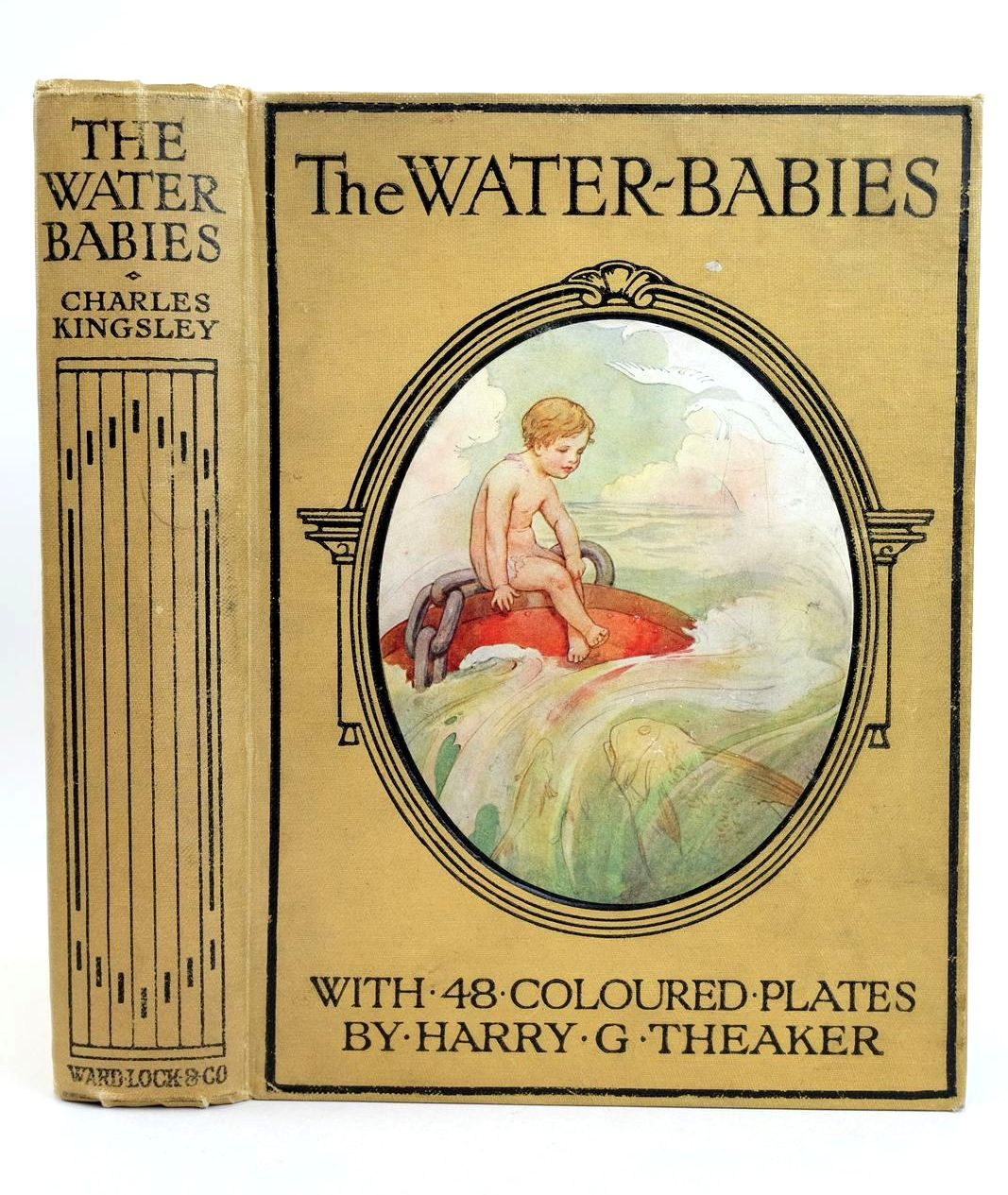 Photo of THE WATER-BABIES written by Kingsley, Charles illustrated by Theaker, Harry published by Ward Lock & Co Ltd. (STOCK CODE: 1318802)  for sale by Stella & Rose's Books