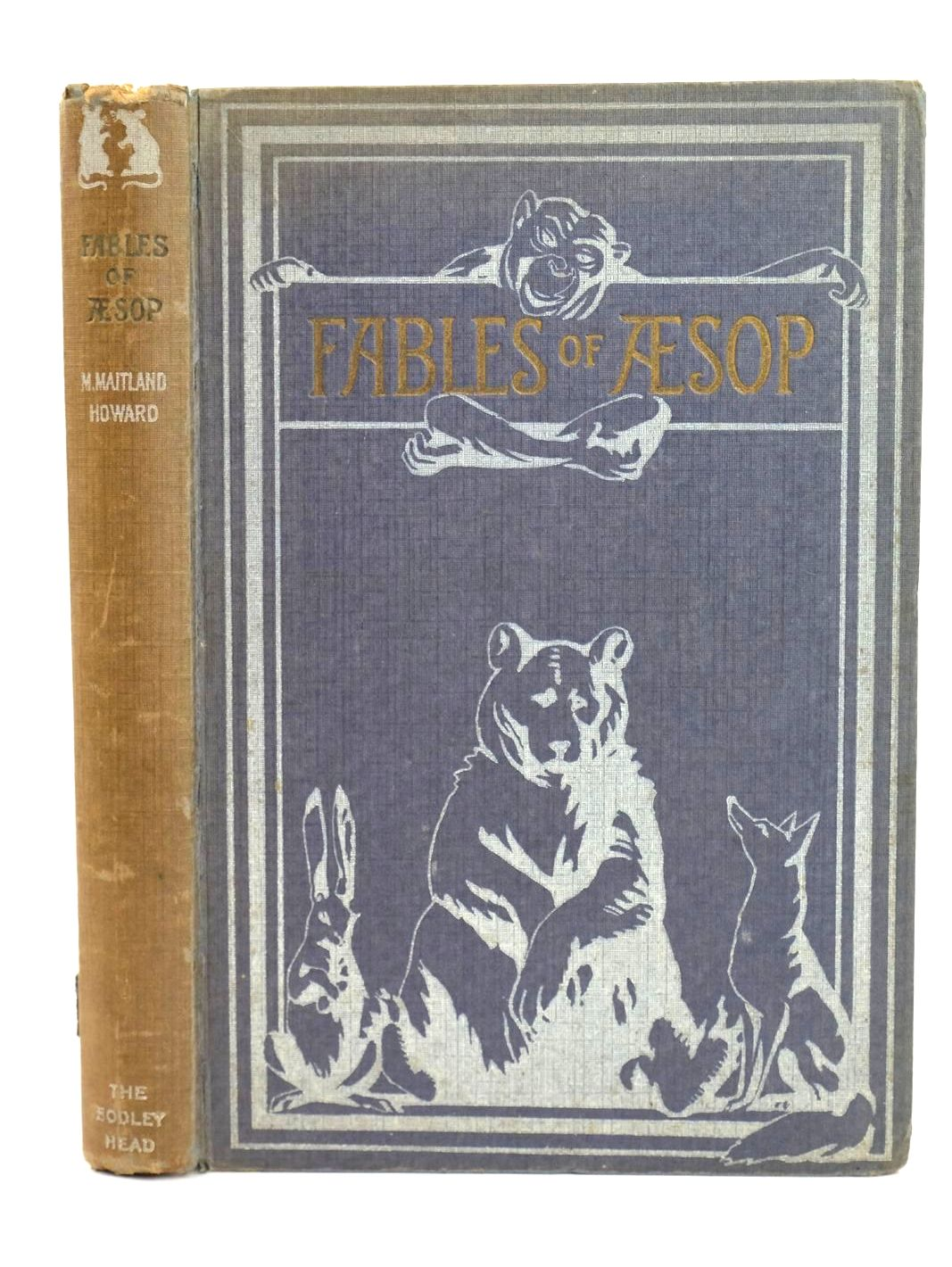 Photo of FABLES OF AESOP written by Aesop, illustrated by Howard, Maitland published by John Lane The Bodley Head Limited (STOCK CODE: 1318807)  for sale by Stella & Rose's Books