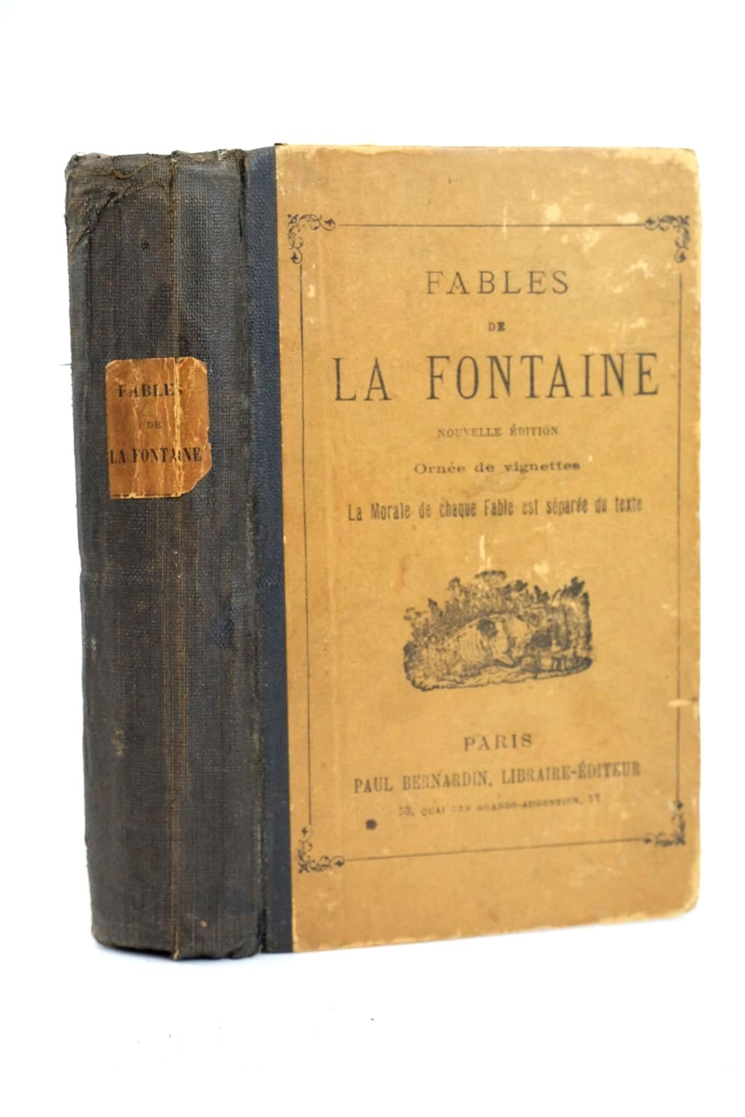 Photo of FABLES DE LA FONTAINE written by La Fontaine, Jean De published by Paul Bernardin (STOCK CODE: 1318825)  for sale by Stella & Rose's Books