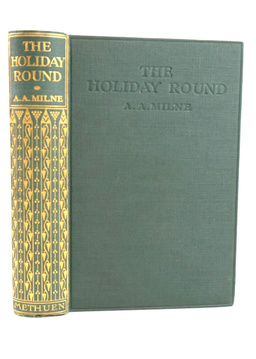 Photo of THE HOLIDAY ROUND written by Milne, A.A. published by Methuen & Co. Ltd. (STOCK CODE: 1318844)  for sale by Stella & Rose's Books