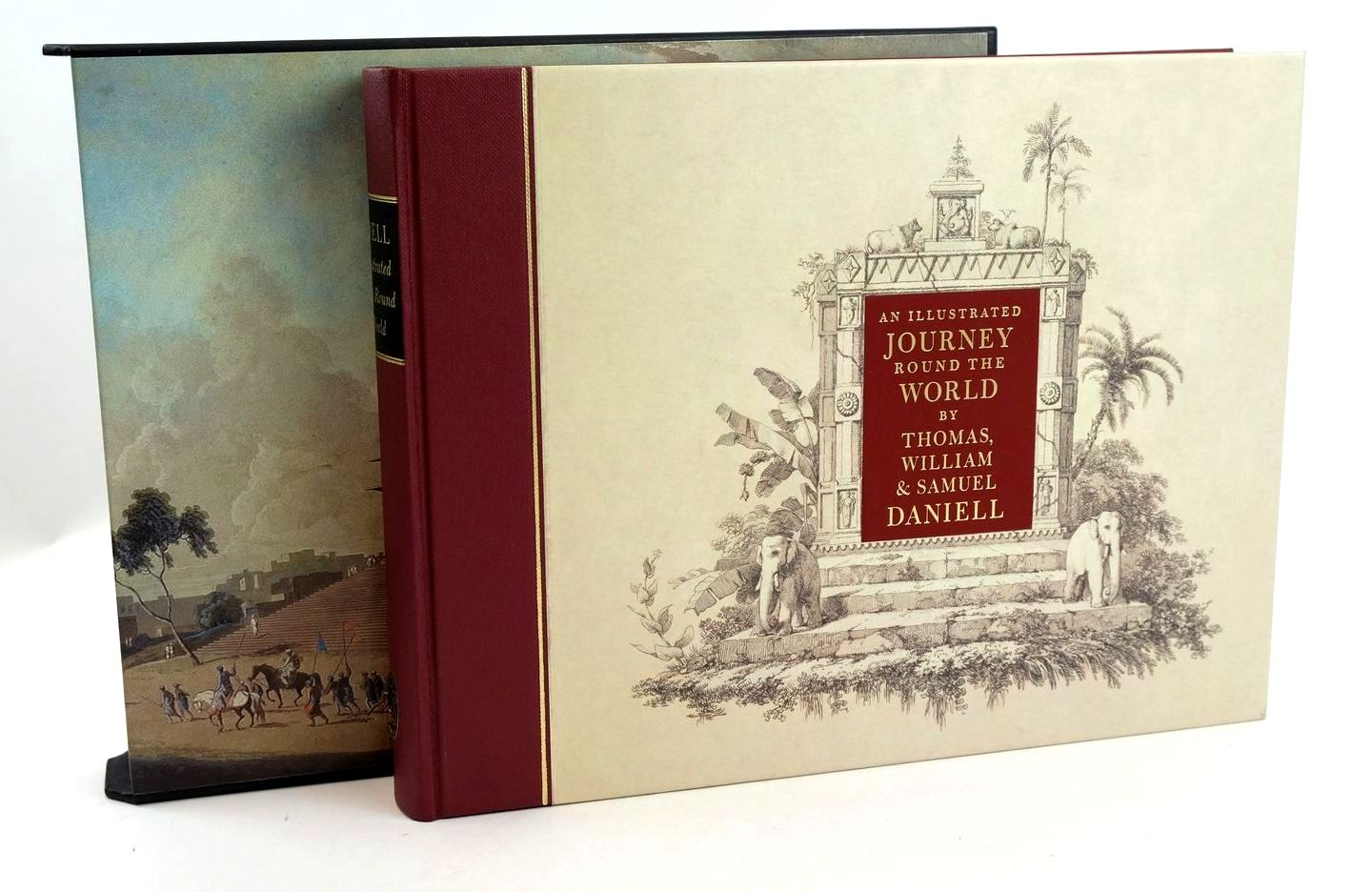 Photo of AN ILLUSTRATED JOURNEY ROUND THE WORLD written by Daniell, Thomas Daniell, Samuel Daniell, William Prior, Katherine illustrated by Daniell, Samuel Daniell, Thomas Daniell, William published by Folio Society (STOCK CODE: 1318849)  for sale by Stella & Rose's Books