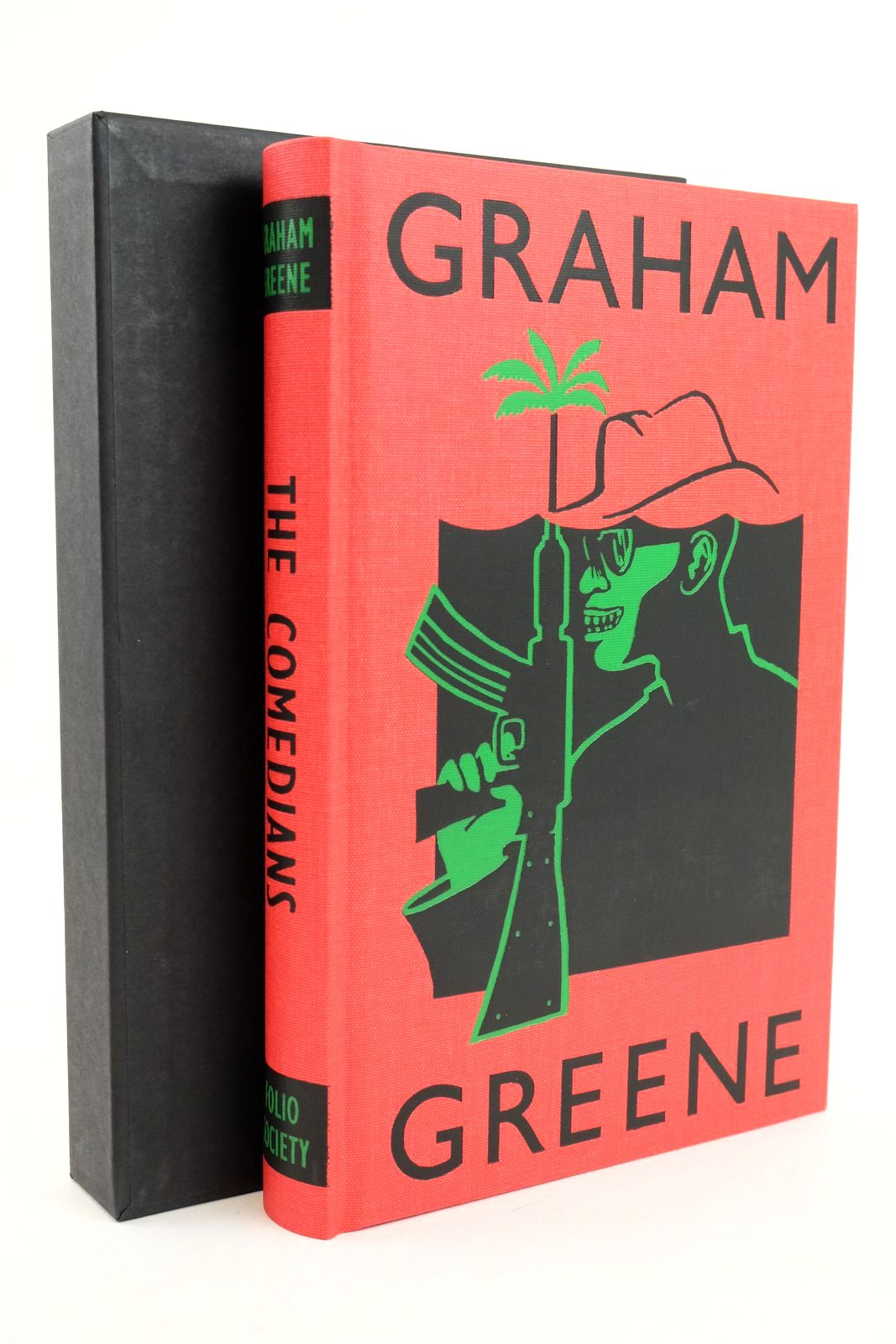 Photo of THE COMEDIANS written by Greene, Graham illustrated by Ogilvie, Sara published by Folio Society (STOCK CODE: 1318860)  for sale by Stella & Rose's Books