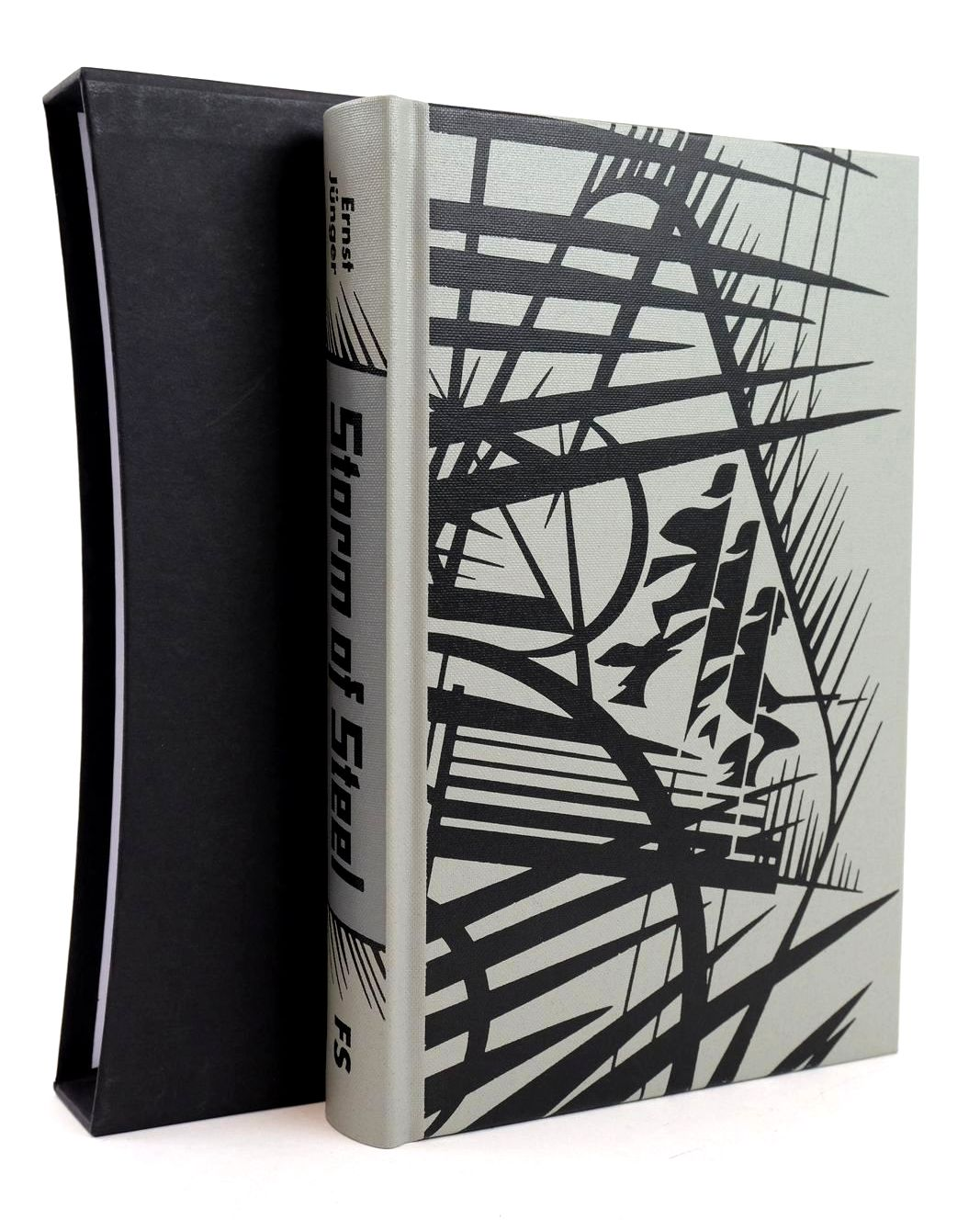 Photo of STORM OF STEEL written by Junger, Ernst illustrated by Gower, Neil published by Folio Society (STOCK CODE: 1318871)  for sale by Stella & Rose's Books