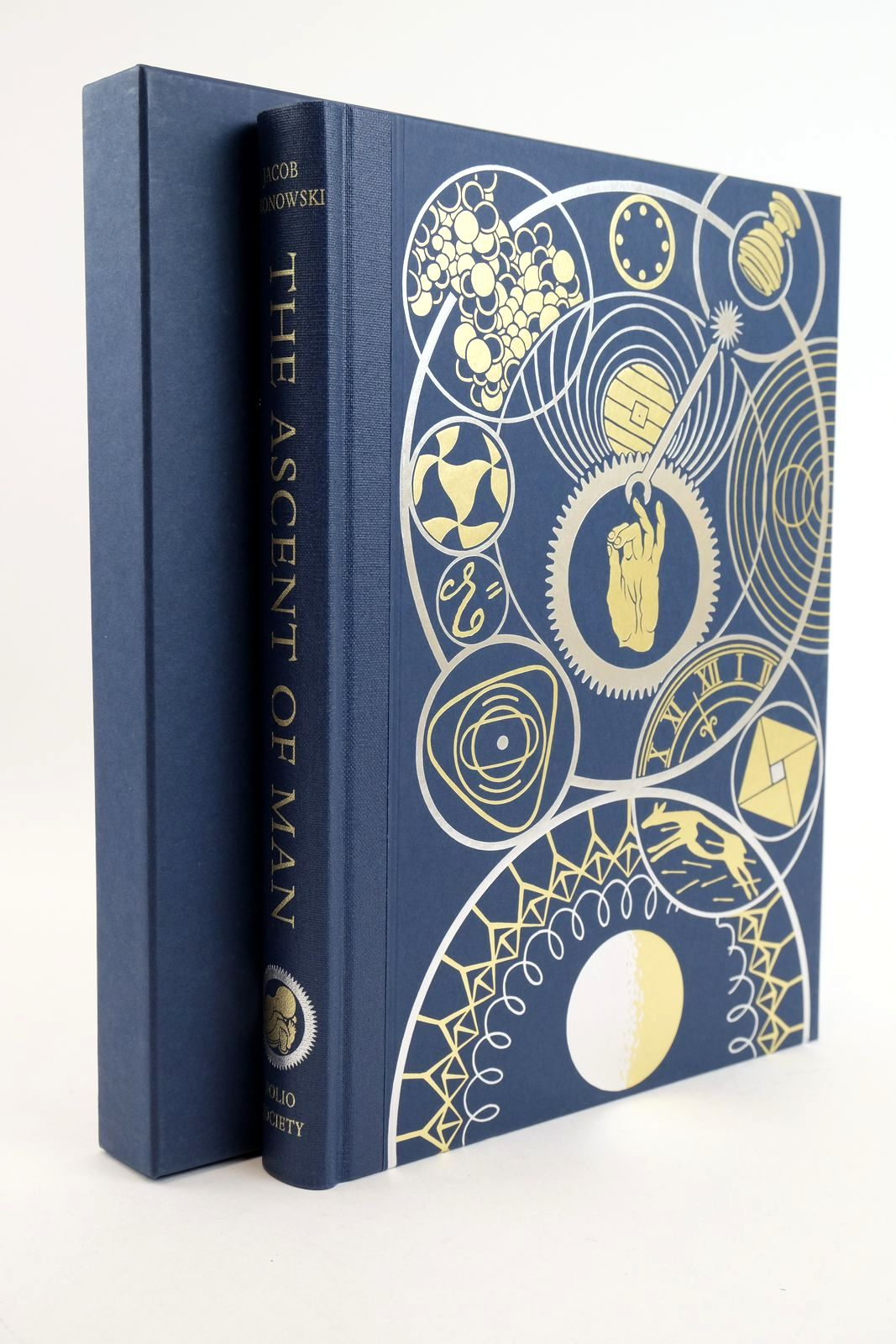 Photo of THE ASCENT OF MAN written by Bronowski, J. Bragg, Melvyn published by Folio Society (STOCK CODE: 1318879)  for sale by Stella & Rose's Books